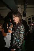 Chrissie Hynde, Becks Futures art prize, Institute of Contemporary arts. London. 2 May 2006. ONE TIME USE ONLY - DO NOT ARCHIVE  © Copyright Photograph by Dafydd Jones 66 Stockwell Park Rd. London SW9 0DA Tel 020 7733 0108 www.dafjones.com