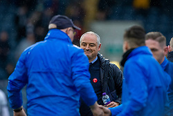 Raith Rovers manager John McGlynn and Falkirk's manager Ray McKinnon at the end. Raith Rovers 2 v 2 Falkirk, Scottish Football League Division One played 5/9/2019 at Stark's Park, Kirkcaldy.