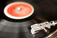 Record Player Spinning