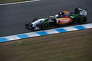 Circuito de Jerez, Spain : Formula One Pre-season Testing 2014. Daniel Juncedella, Force India