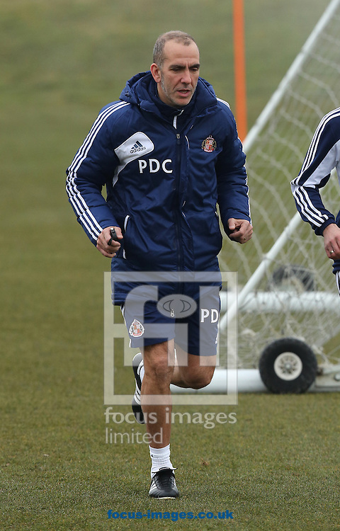 Picture by Paul Gaythorpe/Focus Images Ltd +447771 871632.10/04/2013.Paolo Di Canio pictured during Sunderland training at the Academy of Light, Cleadon.