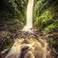 Glenevin waterfall, Clonmany, Co. Donegal, Ireland