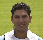Photo Peter Spurrier.Yuvraj Sing 20020620, India Test Team, Nets, Lords. [Mandatory Credit Peter Spurrier:Intersport Images]