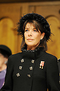 19.NOVEMBER.2011. MONACO<br /> <br /> PRINCESS CAROLINE OF HANOVER AT MONACO CATHEDRAL FOR THE NATIONAL DAY OF MONACO.<br /> <br /> BYLINE: EDBIMAGEARCHIVE.COM<br /> <br /> *THIS IMAGE IS STRICTLY FOR UK NEWSPAPERS AND MAGAZINES ONLY*<br /> *FOR WORLD WIDE SALES AND WEB USE PLEASE CONTACT EDBIMAGEARCHIVE - 0208 954 5968*