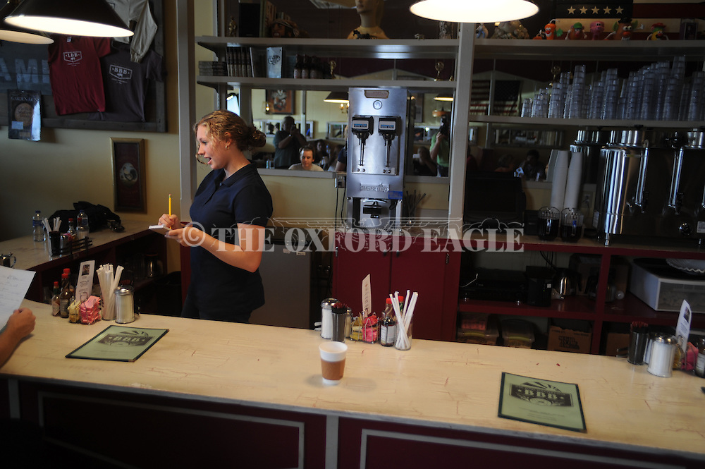 "Filming of ""Where I Begin"" at Big Bad Breakfast in Oxford, Miss. on Tuesday, August 17, 2010."