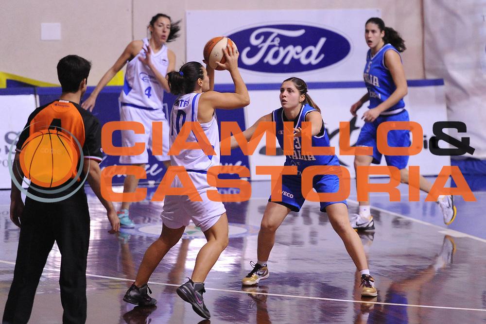 DESCRIZIONE : Orvieto Nazionale Italia femminile Ceprini Costruzioni Orvieto<br /> GIOCATORE :  Benedetta Bagnara<br /> CATEGORIA : difesa<br /> SQUADRA : Italia femminile<br /> EVENTO : amichevole<br /> GARA : Italia femminile Ceprini Costruzioni Orvieto<br /> DATA : 11/12/2012<br /> SPORT : Pallacanestro <br /> AUTORE : Agenzia Ciamillo-Castoria/ N. Dalla Mura<br /> Galleria : Lega Basket A 2012-2013 <br /> Fotonotizia :  Orvieto Nazionale Italia femminile Ceprini Costruzioni Orvieto