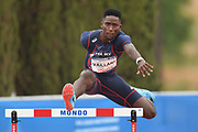 Ludvy Vaillant (FRA) competes on Men's 400 m Hurdles semifinal during the Jeux Mediterraneens 2018, in Tarragona, Spain, Day 6, on June 27, 2018 - Photo Stephane Kempinaire / KMSP / ProSportsImages / DPPI