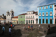 The Largo do Pelourinho, with  the church Nossa Senhora do Rosario dos Pretos, is the symbol of Bahia, since the city became part of the UNESCO World Heritage area is off-limits to cars.