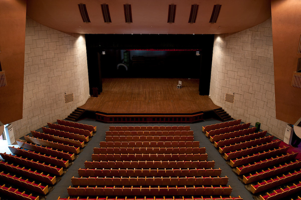 Main hall at the National Theatre, Accra, Ghana 2011
