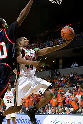 Virginia guard Sean Singletary (44)..The Virginia Cavaliers men's basketball team faced the Howard Bison at the John Paul Jones Arena in Charlottesville, VA on November 14, 2007.