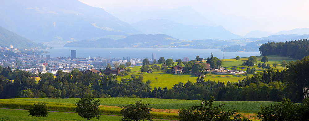 Pictures out of the Kappel am Albis region. The region is located along the borders of Zug and Zurich. Situated on a rising plato the region looks towards lake Zug and the alps.