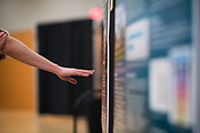 UW School of Medicine students present  research. (GU photo by Gavin Doremus)