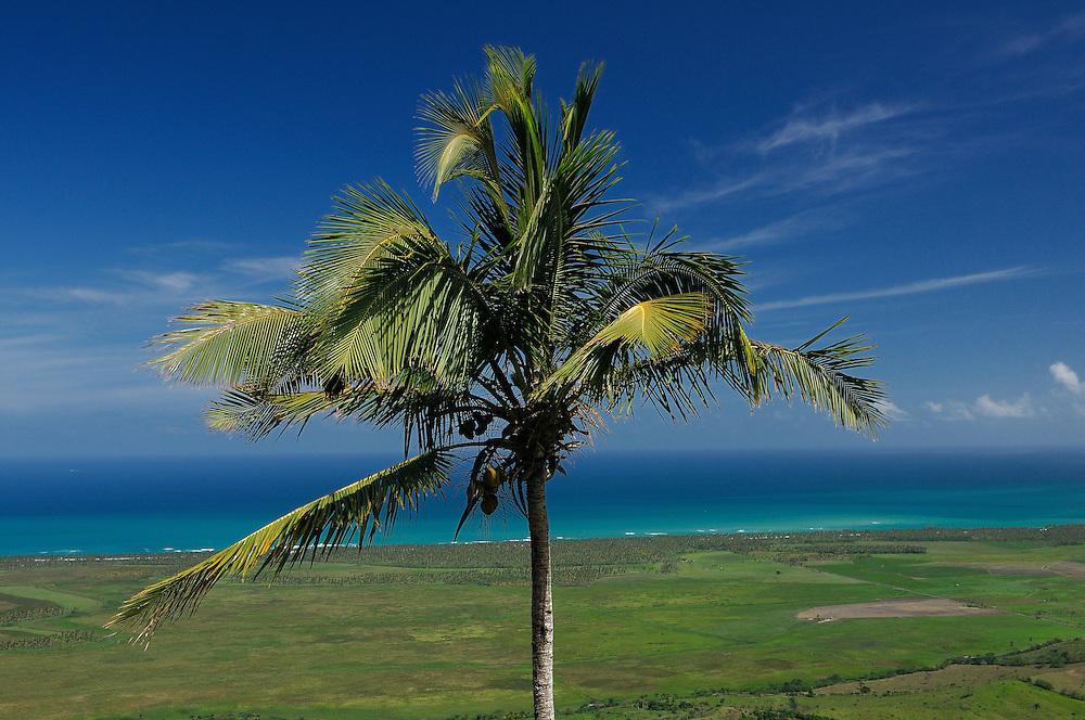view from Montana Redonda, El Cedro, Dominican Republic