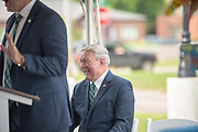 Building Dedication, Dean Ken Johnson, HCOM, President Duane Nellis, University Advancement, Wishing Well