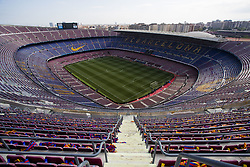 May 6, 2018 - Barcelona, Catalonia, Spain - May 6, 2018 - Camp Nou, Barcelona, Spain - LaLiga Santander- FC Barcelona v Real Madrid CF; Panoramic view of the Camp Not Stadium hours before start the ''El Cl‡sico' (Credit Image: © Marc Dominguez via ZUMA Wire)