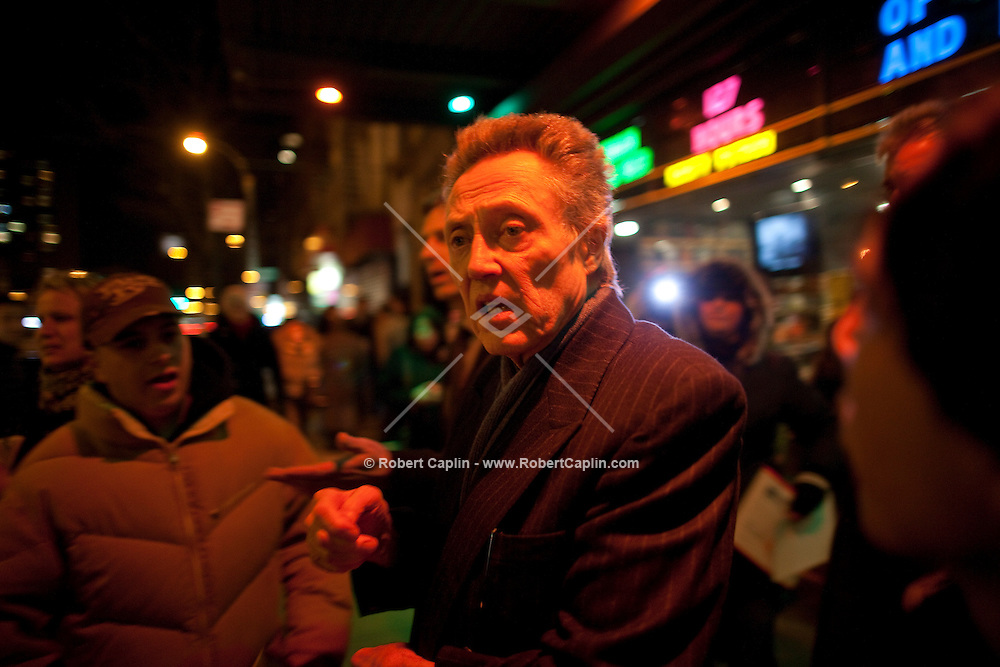 Christopher Walken at the premiere of Kill the Irishman in New York. ..Photo by Robert Caplin
