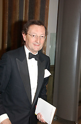 LORD ALDINGTON at The Royal Academy dinner before the official opening of the Summer Exhibition held at the Royal Academy of Art, Burlington House, Piccadilly, London W1 on 6th June 2006.<br />
