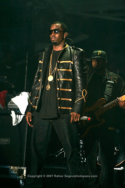"Sean ""P. Diddy"" Combs performing at Giant's Stadium in East Rutherford New Jersey on June 3, 2007 during Hot 97's Summerjam 2007... ..© Rahav Segev/ Retna ltd."