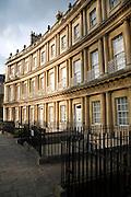 Georgian buildings, King's Circus, Bath