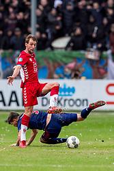 28-01-2018 NED: FC Utrecht - AFC Ajax, Utrecht<br /> Willem Janssen #14 of FC Utrecht, Klaas Jan Huntelaar #9 of Ajax