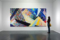Ayyam Art Center art gallery in warehouse in Alserkal Avenue arts district in Al Quoz in Dubai United Arab Emirates