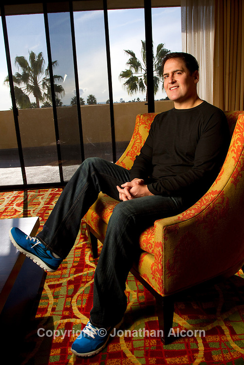 Mark Cuban, entrepreneur and owner of the NBA Dallas Mavericks