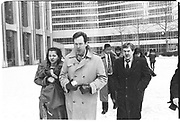 Office workers leaving Twin Towers in the World Trade Center after walking down emergency exits ( up to 50 flights of stairs ) through smoke<br /> Friday 19 February 1993. Film 93223/30<br /> © Copyright Photograph by Dafydd Jones<br /> 66 Stockwell Park Rd. London SW9 0DA<br /> Tel 0171 733 0108