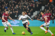 Fulham Midfielder Lazar Markovic (30) in action during the Premier League match between West Ham United and Fulham at the London Stadium, London, England on 22 February 2019.