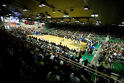 Arena Tivoli  at Euroleague basketball match in 6th Round of Group C between KK Union Olimpija and Maccabi Tel Aviv, on December 3, 2009, in Arena Tivoli, Ljubljana, Slovenia. (Photo by Vid Ponikvar / Sportida)