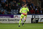 Huddersfield Town goalkeeper, on loan from Liverpool, Danny Ward (1) during the EFL Sky Bet Championship match between Huddersfield Town and Brighton and Hove Albion at the John Smiths Stadium, Huddersfield, England on 2 February 2017.