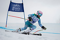 Piche Invitational giant slalom U14 girls  2nd run.    ©2019 Karen Bobotas Photographer