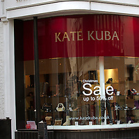 LondonJan 5th London Jan 3 Kate Kuba, the premium women's footwear chain, has gone into administration..Fisher Partners is understood to be handling the administration..Sources told Drapers that Kate Kuba owner Cos Constantinou was likely to buy back some of the company's stores....Please telephone : +44 (0)845 0506211 for usage fees .***Licence Fee's Apply To All Image Use***.IMMEDIATE CONFIRMATION OF USAGE REQUIRED.*Unbylined uses will incur an additional discretionary fee!*.XianPix Pictures  Agency  tel +44 (0) 845 050 6211 e-mail sales@xianpix.com www.xianpix.com