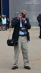 Photographer DON McCULLIN at the 3rd day - Ladies Day of Roayl Ascot 2006 on 22nd June 2006.<br />