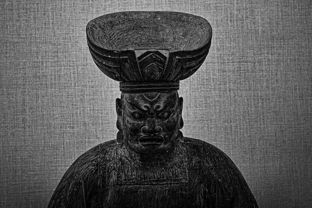 Chinese statue from antiquity, on display at the Brooklyn Museum, Brooklyn, New York. http://www.brooklynmuseum.org/