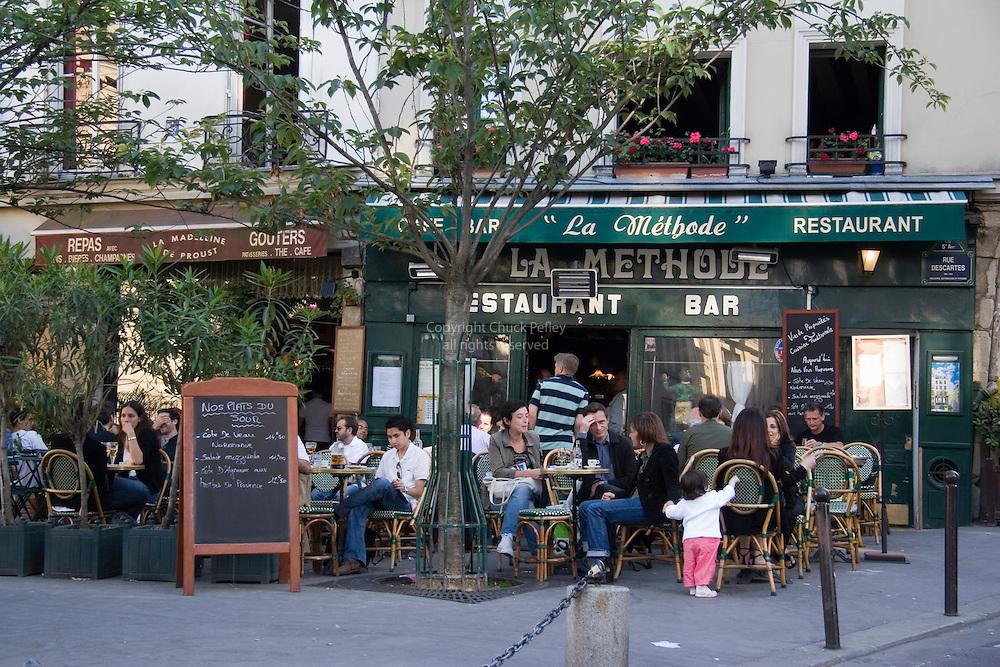 La Methode cafe on Place Larue, Paris France<br />