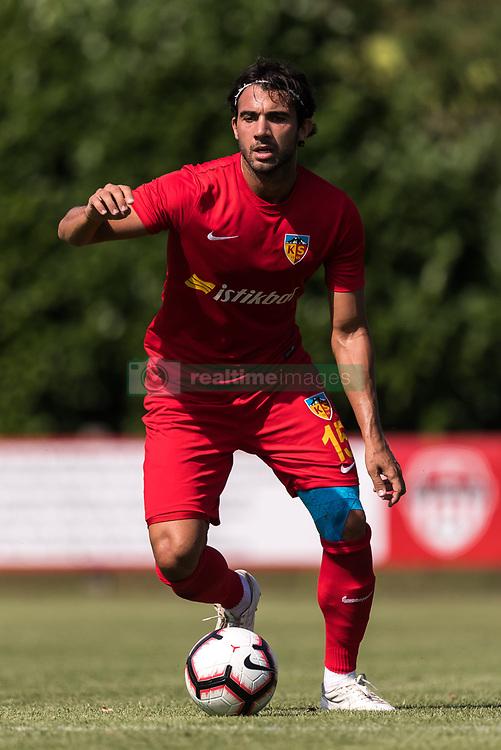 Sakib Aytac of Kayserispor during the Pre-season Friendly match between jong FC Utrecht and Kayserispor at Sportpark Rheden on July 27, 2018 in Rheden, The Netherlands