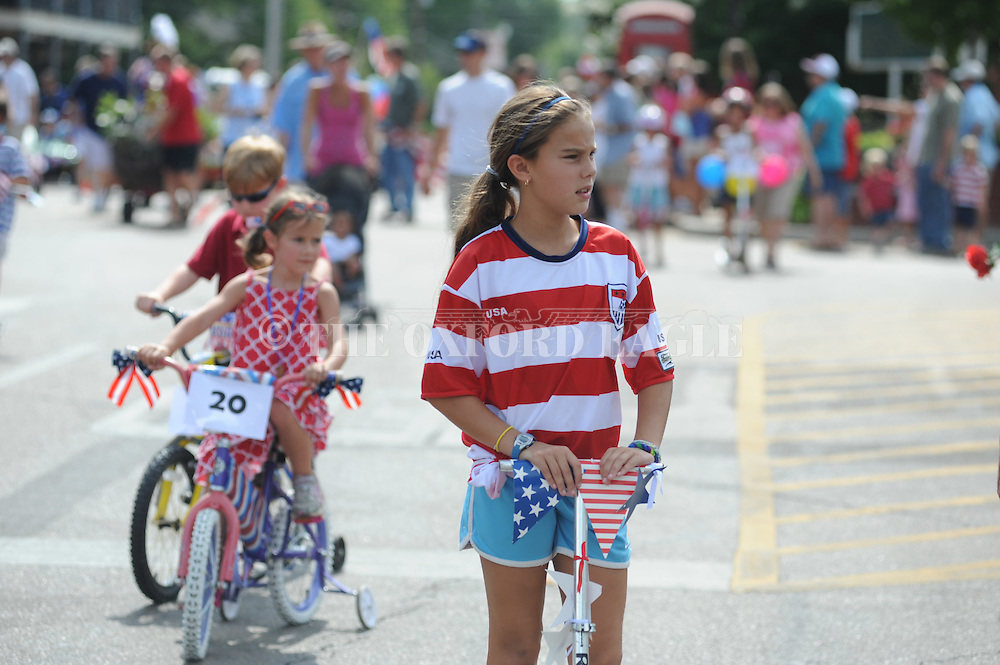 The 4th of July parade in Oxford, Miss. on Wednesday, July 4, 2012.