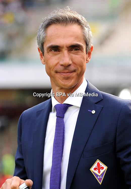 Italian League Serie A -2016-2017 / <br /> ( ACF Fiorentina ) - <br /> Paulo Manuel Carvalho Sousa &quot; Paulo Sousa &quot; - DT ACF Fiorentina