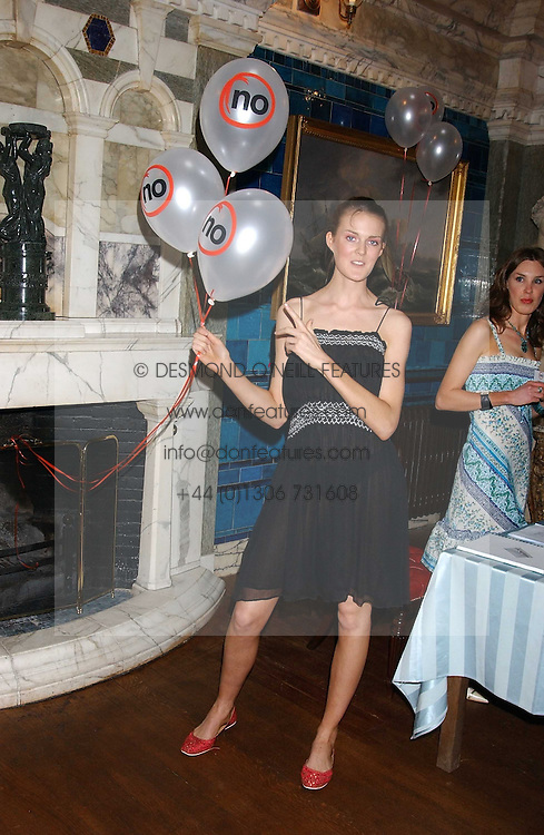 CHARLOTTE WHEELER daugher of Stuart Wheeler and sister of model Jacquetta Wheeler at the No Campaign's Summer Party - a celebration of the 'Non' and 'Nee' votes in the Europen referendum in France and The Netherlands held at The Peacock House, 8 Addison Road, London W14 on 5th July 2005.<br /><br />NON EXCLUSIVE - WORLD RIGHTS