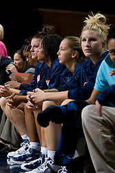 The Virginia Cavaliers women's basketball team faced Team Concept in an exhibition basketball game at the John Paul Jones Arena in Charlottesville, VA on November 5, 2007.