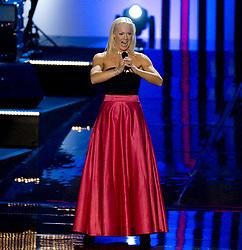 January 14, 2008 - Stockholm, SVERIGE - 080114 Idrott, Idrottsgalan: Malena Ernman.© BildbyrÅ'n - 42406 (Credit Image: © Bj…Rn Tilly/Bildbyran via ZUMA Press)