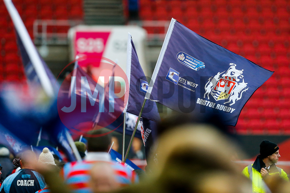 Half time parade - Mandatory byline: Rogan Thomson/JMP - 30/01/2016 - RUGBY UNION - Ashton Gate Stadium - Bristol, England - Bristol Rugby v Jersey - Greene King IPA Championship.