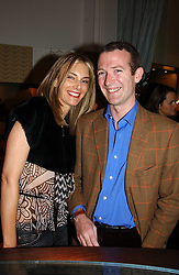 MRS ROBERT HERSOV and ASHLEY HICKS at a jewellery party hosted by Osanna Visconti and Pia Marocco at Allegra Hick's shop, 28 Cadogan Place, London on 25th November 2004.<br />