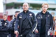 Adam Murray of Barnsley (Caretaker Manager) during the EFL Sky Bet Championship match between Barnsley and Swansea City at Oakwell, Barnsley, England on 19 October 2019.