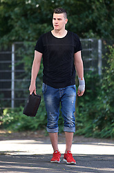 01.07.2015, Weserstadion, Bremen, GER, 1. FBL, SV Werder Bremen, Trainingsauftakt, im Bild Michael Zetterer (SV Werder Bremen #30) auf dem Weg vom Parkplatz zur Kabine // during a Trainingssession of German Bundesliga Club SV Werder Bremen at the Weserstadion in Bremen, Germany on 2015/07/01. EXPA Pictures © 2015, PhotoCredit: EXPA/ Andreas Gumz<br /> <br /> *****ATTENTION - OUT of GER*****