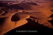 Sossusvlei's Giant Sand Dunes, Aerial View