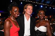 Danai Gurira, Brad Pitt, Lupita Nyong'o