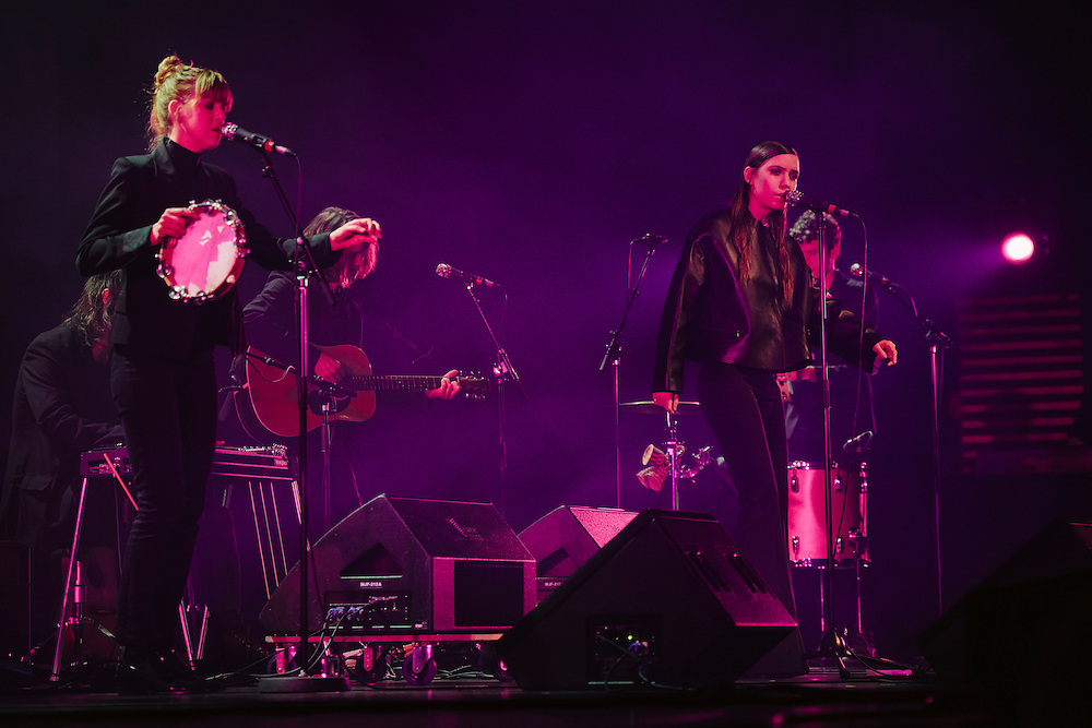 Photos of musician Lykke Li performing live for 'Stopp - Let's Protect the Park' nature benefit concert at Harpa concert hall in Reykjavík, Iceland. March 18, 2014. Copyright © 2014 Matthew Eisman. All Rights Reserved