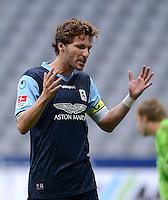 Fussball 2. Bundesliga:  Saison   2012/2013,    4. Spieltag  TSV 1860 Muenchen - MSV Duisburg    31.08.2012 Benjamin Lauth (1860 Muenchen)
