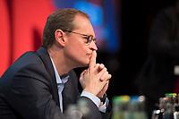 DEU, Deutschland, Germany, Berlin, 11.11.2017: Michael Müller, Regierender Bürgermeister von Berlin, Landesparteitag der Berliner SPD im Hotel Interconti.